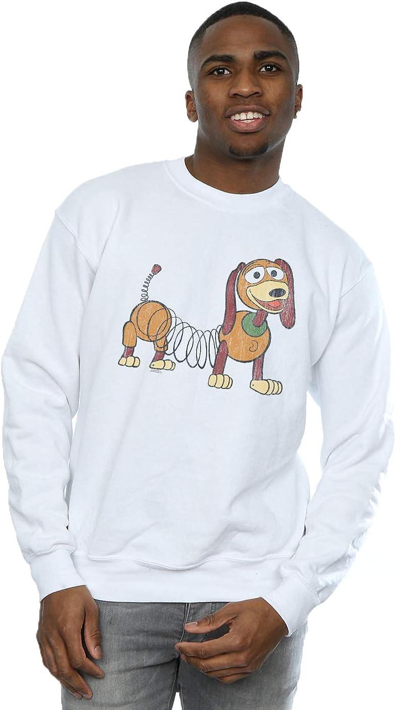 Disney Men's Toy Story 4 Slinky Pose Sweatshirt