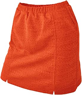 Ladies Dry Swing Notched Detail Texture Solid Pull-on Knit Skort #2927