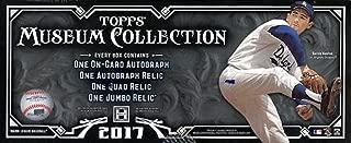 2017 Topps Museum Collection MLB Baseball HOBBY box (4 pks/bx)