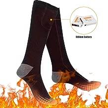 heated socks for snow skiing