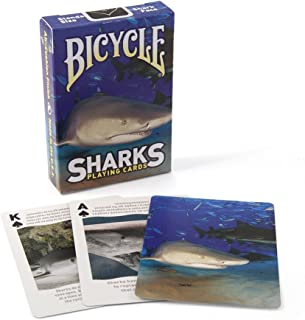 Bicycle Deck Playing Cards Sharks Card Games