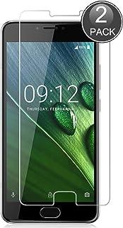 E-Hamii [2-pack Acer Liquid Z6 Plus skärmskydd, 0,26 mm HD anti-repor och anti-fingeravtryck skydda film, 9H härdat glas s...