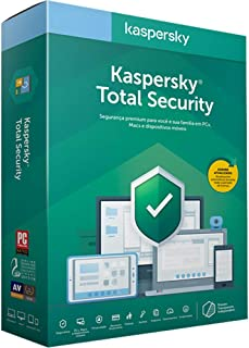 Kaspersky Total Security - Multidispositivos - 1 Dispositivos, 1 ano (Digital - Via Download)