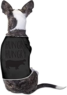 Agilitynoun Dog T-Shirt Clothes Hungry Hippo Doggy Puppy Tank Top Pet Cat Coats Outfit Jumpsuit Hoodie