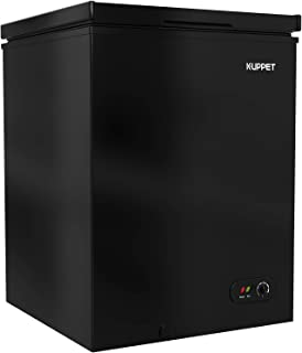 KUPPET Chest Freezer, Portable & Compact Freezer with Adjustable thermostat, for Meat, Vegetable and Drinks, Home/Camping/...