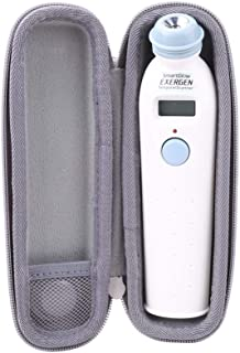 Aenllosi Hard Carrying Case for Exergen Temporal Scan Forehead Artery Baby Thermometer Scanner (Grey)