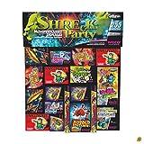 250 Teile - SHRECK PARTY - KINDERFEUERWERK