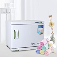 Yescom 23L Hot Towel Warmer Cabinet UV Sterilizer Spa Facial Salon Beauty Equipment