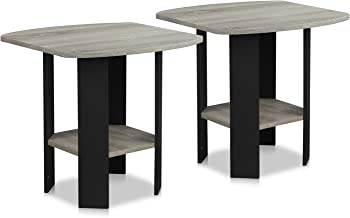 2-Pack Furinno Simple Design End Table
