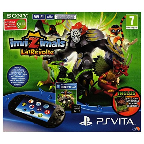 Console Playstation Vita Wifi PCH-2003 + Invizimals: La Revolte (Ps Vita) [Importación Francesa]