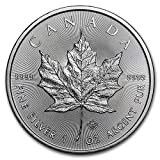 2020 CA Canadian 1 oz Silver Maple Leaf Coin 9999 $5 Brilliant Uncirculated New
