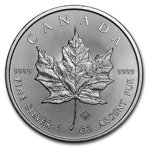 DEUTSCHER MÜNZEXPRESS Maple Leaf Kanada 2020 | Silberunze | Anlagemünze