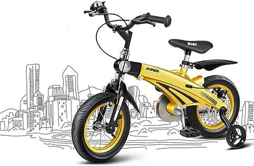 """hasta un 70% de descuento CZALBL Bicicleta para Niños, Estilo Libre Infantil 12 , , , 14 , 16 Bicicletas de tamaño múltiple, Estable, Bicicletas retráctiles, Adecuado para Niños y niñas de 2-11 años de Edad,C,12""""  ganancia cero"""