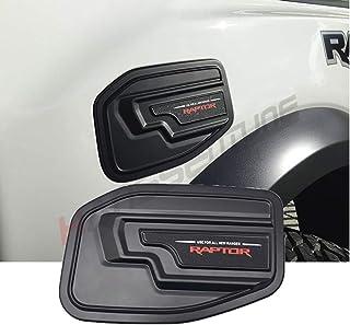 Lfldmj pour Ford Mustang 2015 Style de Voiture ABS Bouchon de r/éservoir de Carburant Autocollant de Couverture de r/éservoir de gaz//Huile