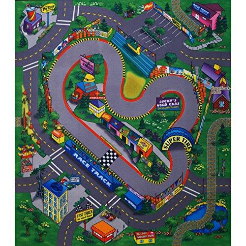 Unbekannt Race Track Tapis de Jeu 70 x 80 cm