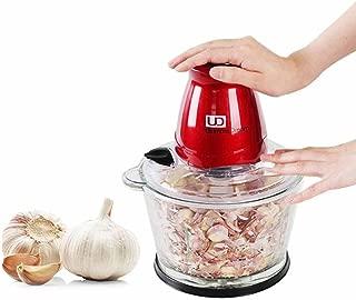 [Ultimate Dream]UDG-08 Garlic Peeler Vegetable peeling machine squasher smasher crusher Squeezer slicer & a mincing machine,a mincer Ginger Ice slicer grinder Hygienic Tempered Glass bowl quadruple s