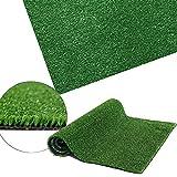 Petgrow Premium 35mm altezza erba artificiale, realistico e spessa finta finta erba Mat, outdoor Garden Dogs Pet erba sintetica, tappeto zerbino in gomma con fori di drenaggio