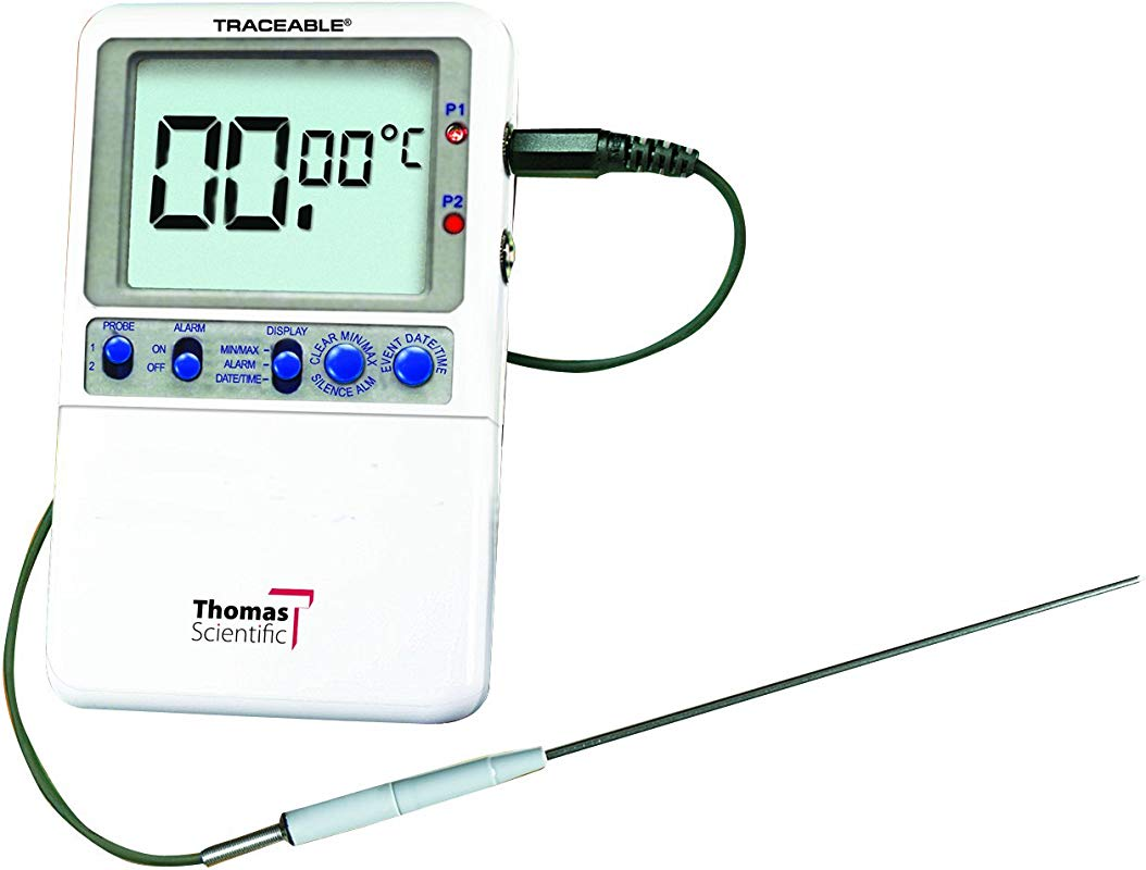 Thomas Traceable Extreme Accuracy Thermometer 6 25 Stem