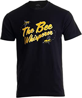 The Bee Whisperer   Bee Keeper Keeping Apiary Cool Funny Joke Men Women T-Shirt