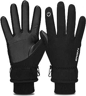 Winter Gloves, -30°F Touch Screen Thermal Gloves Windproof Warm Gloves Men Women
