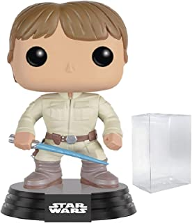 Star Wars Funko Pop Bespin Luke Skywalker with Lightsaber Funko Pop! Vinyl Bobble-Head Figure (Includes Compatible Pop Box Protector Case)