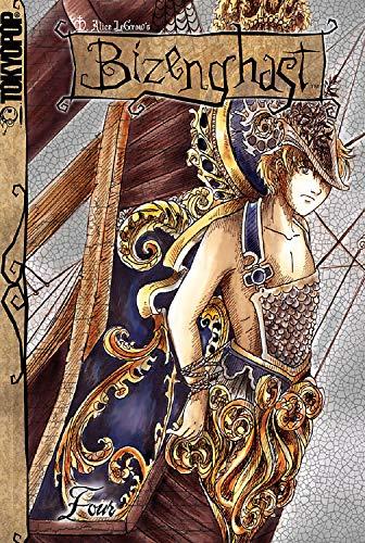 Bizenghast manga volume 4