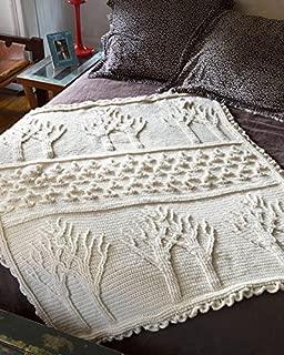 Lion Brand Yarn Lion Brand 600-560 Tree of Life Afghan Knit Kit