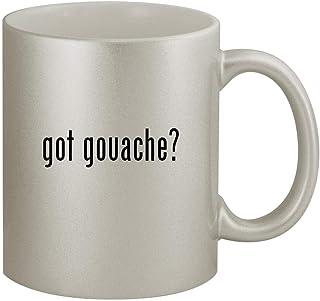 got gouache? - 11oz Silver Coffee Mug Cup, Silver