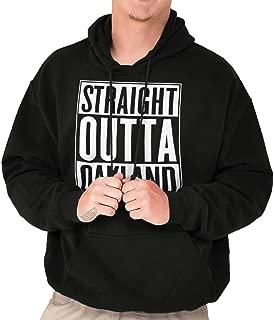 Classic Teaze Straight Outta Oakland California Souvenir Hoodie