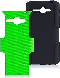 iCues AA44 2-Part Air Funda con función de, Verde, Huawei Ascend Y530