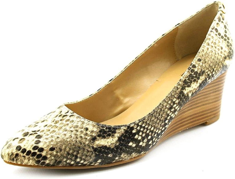 Tahari Bobby Womens US Size 9.5 Tan Wedges Heels shoes