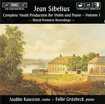 Sibelius: Complete Youth Production for Violin and Piano, Vol. 1