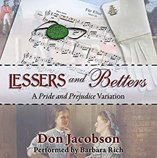 Lessers and Betters: A Pride and Prejudice Variation audiobook cover art