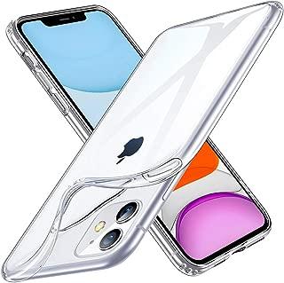ESR iPhone 11 ケース クリア ソフトケース アイホン 11 カバー 薄型 透明TPU【指紋防止 黄変防止 衝撃吸収 耐傷性 安心保護 軽量 Qi急速充電対応】 6.1インチ iPhone 11 專用スマホケース(クリア)