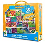 The Learning Journey Jumbo Floor Puzzles - Number Floor Puzzle by The Learning Journey