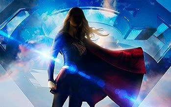TianSW Supergirl Season 4 (38inch x 24inch/96cm x 60cm) Waterproof Poster No Fading