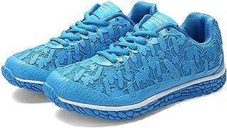 XL_nsxiezi Panel de Malla de Las Mujeres Zapatos Estudiantes Salvajes Zapatos Deportivos Casuales