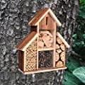 Heritage Fix On Insect Wooden Hotel Nest Home Bee Keeping Bug Garden Ladybird Box 2630 by Heritage Pet Products