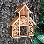 Heritage Fix On Insect Wooden Hotel Nest Home Bee Keeping Bug Garden Ladybird Box 2630