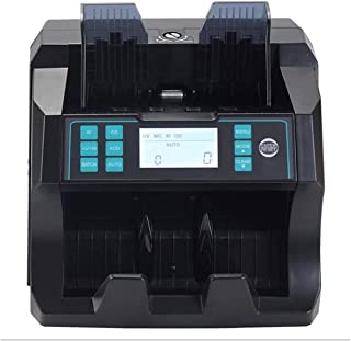 M_SSSK Modern Simplicity Money Counter, Portable Money Detector,Vertical Counterfeit Detector with Adjustable Counting Spe...