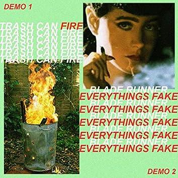 Trashcanfire / Blade Runner