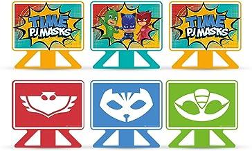 Decoração de Mesa PJ Masks - 6 Itens