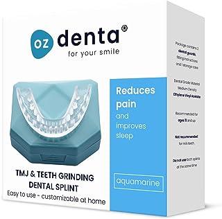comprar comparacion 2 x Férula Dental Placa de Descarga Nocturna Protector Bucal para dormir, contro Bruxismo Rechinar los dientes y los Trast...