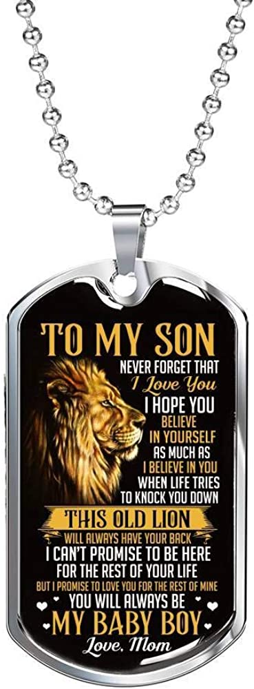Lion from Mom to Jacksonville Mall My Son Never Love Forget You I Be That Hope famous