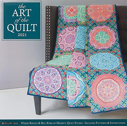 Art of the Quilt 2021 Wall Calendar