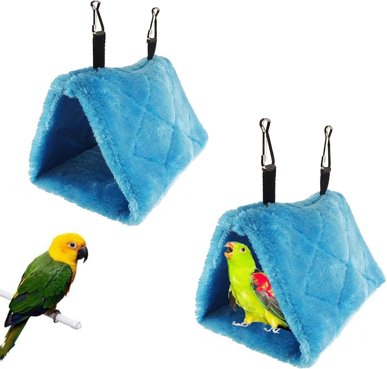 Tfwadmx 2Pcs Bird Genuine Free Shipping Tent Raleigh Mall Plush Hammock Hanging Nest Warm Hut C for