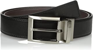 Calvin Klein Men's Harness Buckle 35mm Reversible Belt