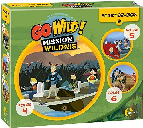 Go Wild - Mission Wildnis - Starter-Box 2 (Folge 4-6)