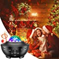 Star Projector & Night Light Projector, Galaxy Light Projector for Bedroom, Kids, with 10 Lighting Modes, Bluetooth Speaker, Remote Control, Sound-Activated and Auto-Off Timer, Perfect Decor Gifts