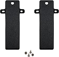KENMAX Belt Clip with Screws for Kenwood TH-21 TH-21AT TH-22 KBH-10 (2 Packs)